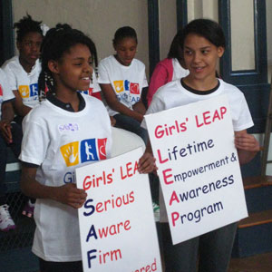 2011 Beneficiary - Girls' LEAP